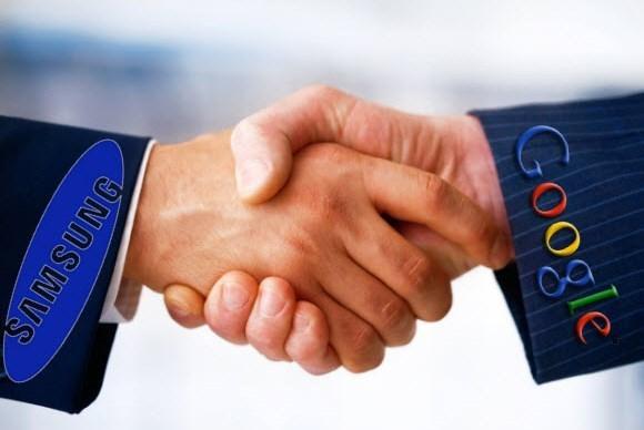 Google и Samsung заявили о сотрудничестве