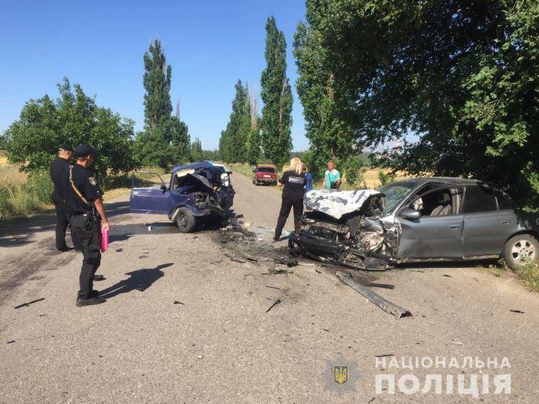 Его отец и водитель Opel пострадали и были госпитализированы