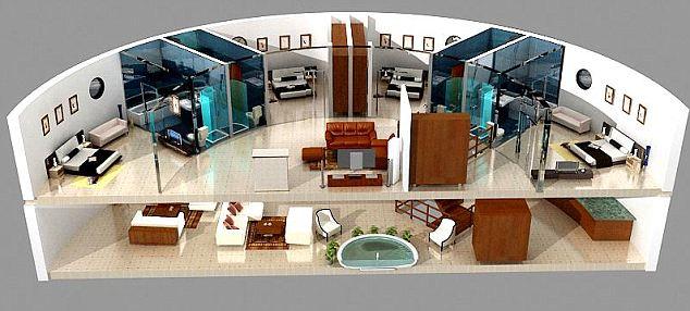 Стоимость квартиры, занимающей целый этаж, составляет $2 миллиона