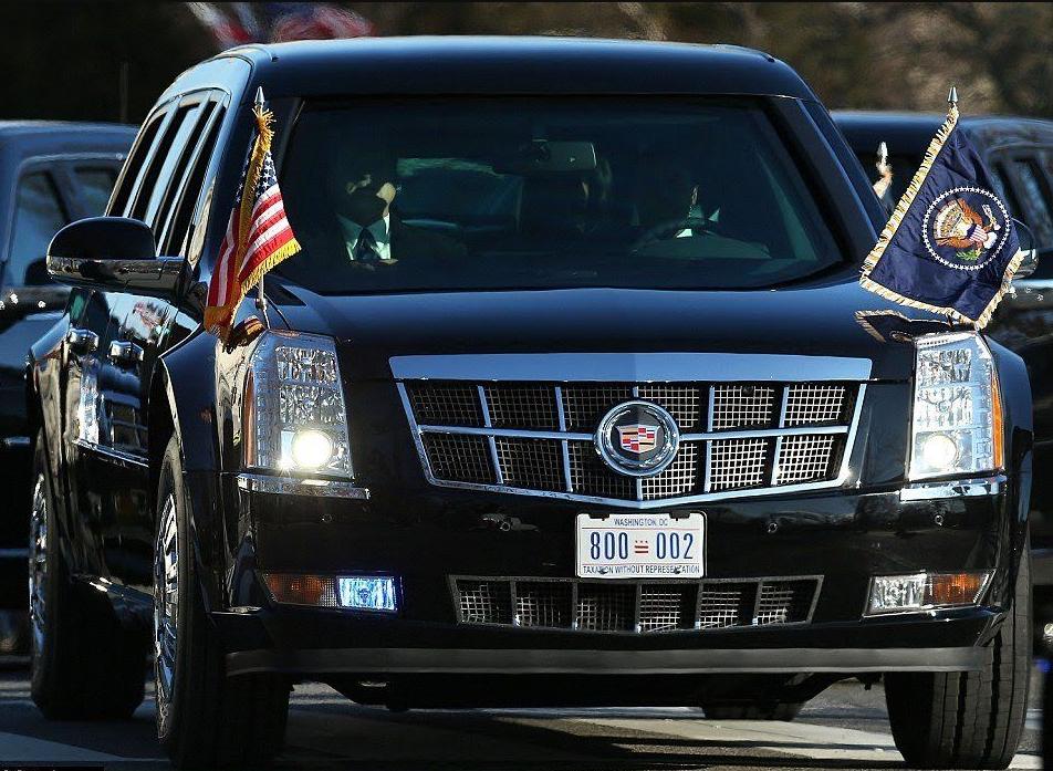 """Имеет кодовые имена """"Зверь"""", """"Cadillac One"""" и """"Дилижанс"""""""