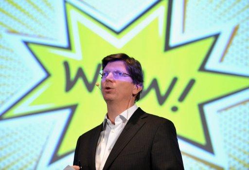Одна из первых презентаций Skype Никласом Зеннстромом