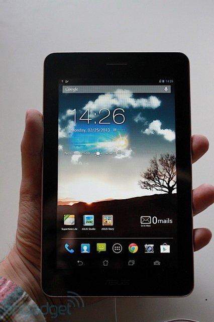 ASUS FonePad - дешевый планшет на Intel Atom