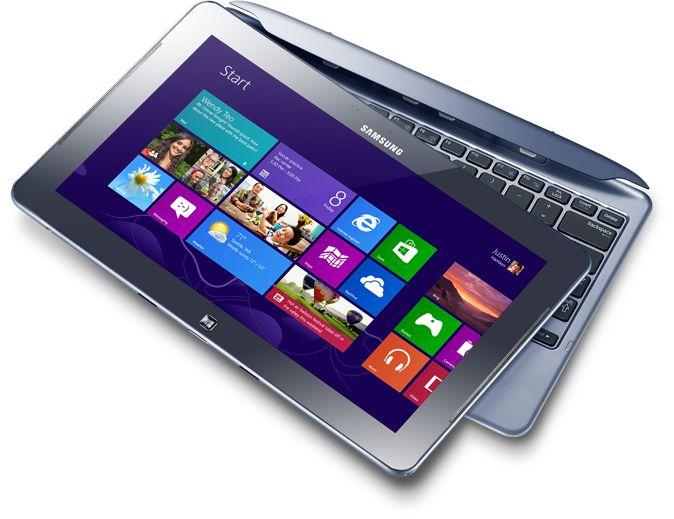 ATIV Smart PC - в режиме планшета