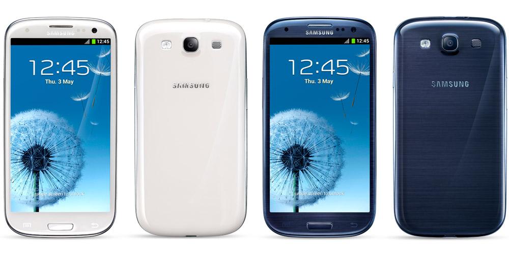 Предыдущей модели, Galaxy S3, было всего 4 вида