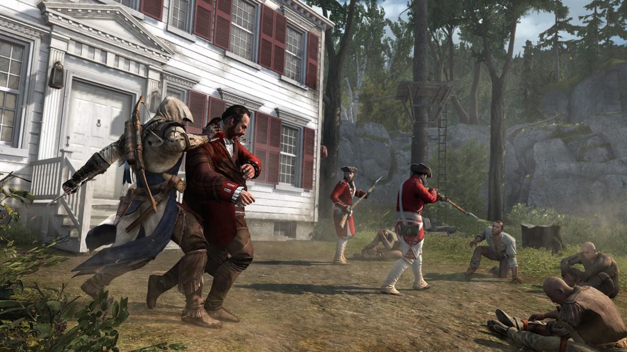 В Assassin's Creed 3 количество оружия стало больше