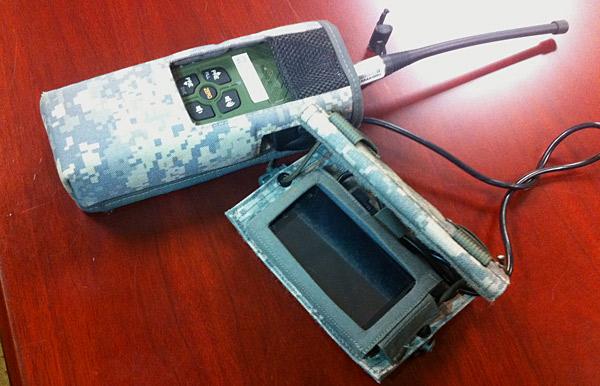 Смартфон с приставкой Nett Warrior