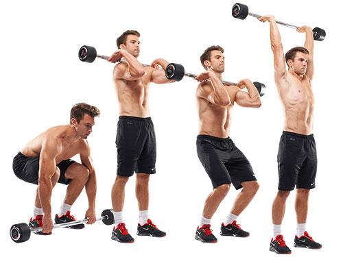 Жим стоя на 51% повышает способность мышц развиваться