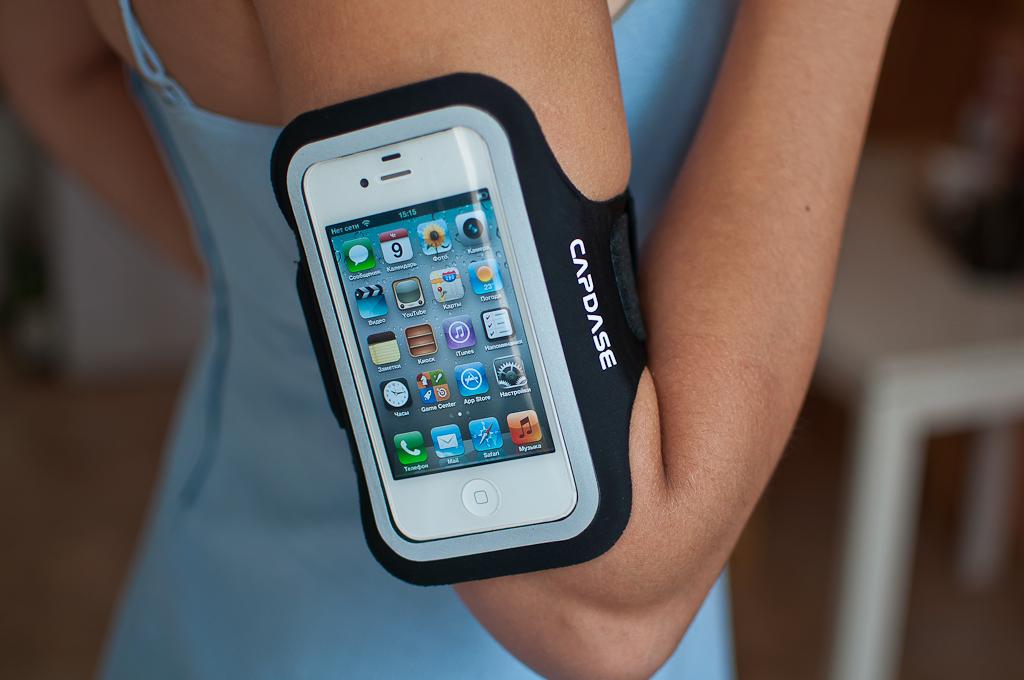 Телефон во время пробежки может записывать ваше местоположение и отправлять другим