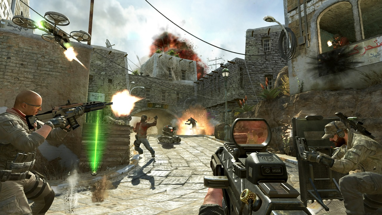 Call of Duty: Black Ops 2. Зомби рядом