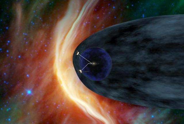 Вояджер преодолеет магнитное поле Солнца