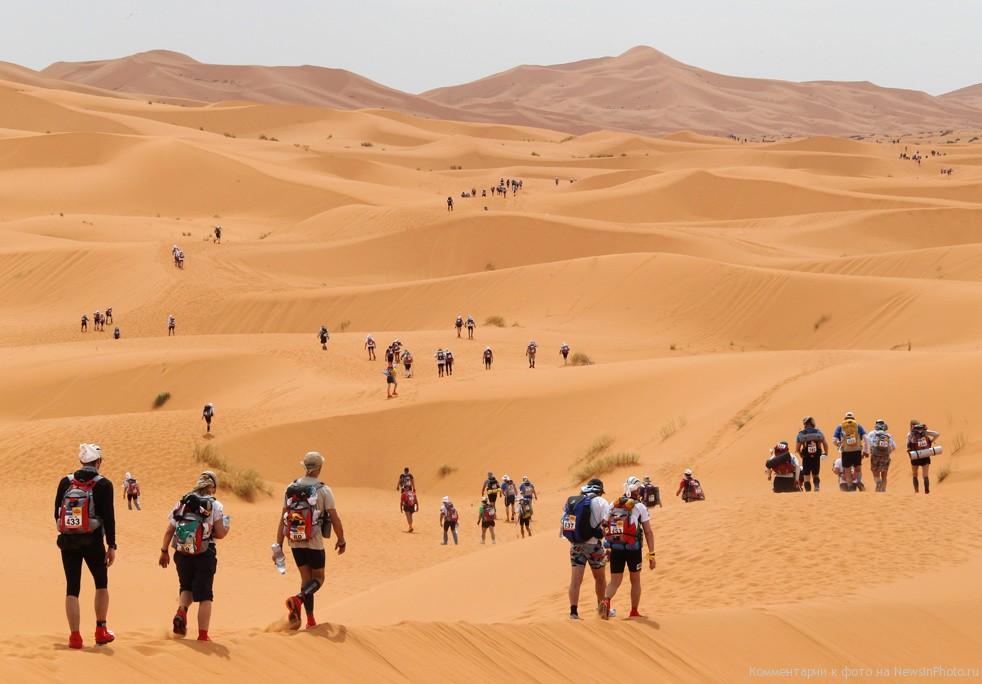 Кто сказал, что в Сахаре не проводят соревнования?