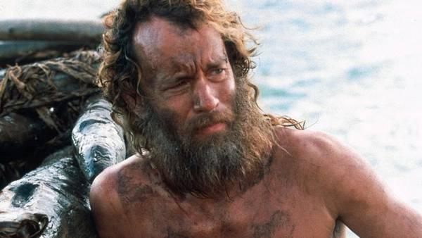 Для съемок в Изгое Тому Хэнксу пришлось дважды потолстеть