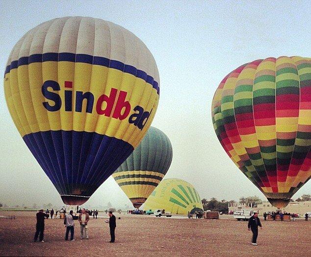 Британский турист снял место запуска шаров в Люксоре за несколько минут до трагедии