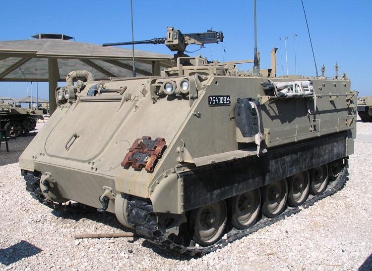 M113 побывал на Вьетнамской, Ливанской,  Ирано-иракской и других войнах