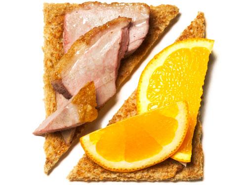 Хочешь поумнеть - ешь утиное мясо с апельсинами