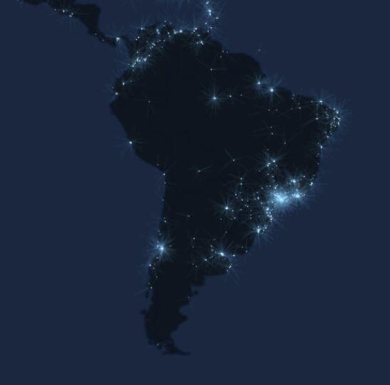 В Южной Америке больше всего в Twitter пишут в Бразилии