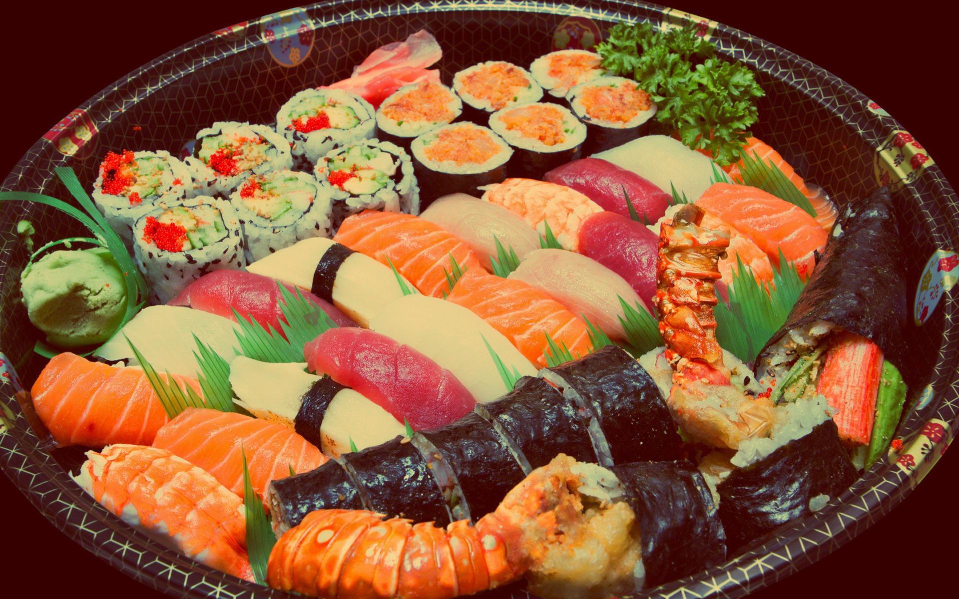 Суши - одно из самых полезных блюд в мире