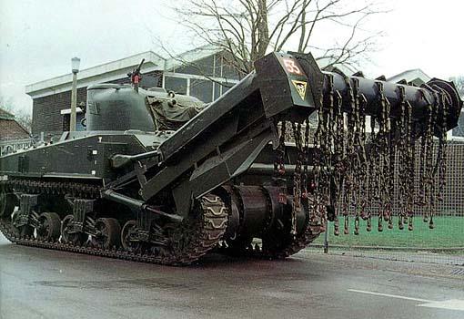 Некоторые танки были совершенно бестолковыми