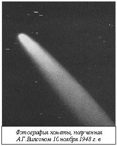 Комета затмения 1948 года была настолько яркой, что ее было видно даже на фоне Солнца