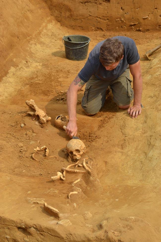Участок, где проводились раскопки, составляет по площади почти 90 гектаров