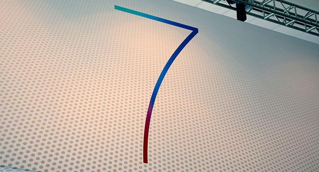 Один из логотипов выставки WWDC 2013 намекает на iOS 7