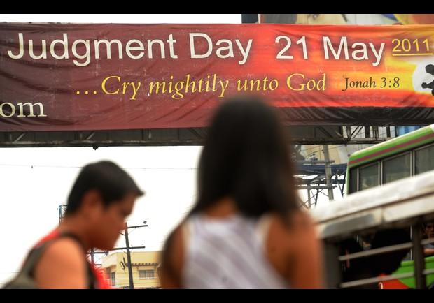 Судный день настал 21 мая. Вы разве этого не заметили?