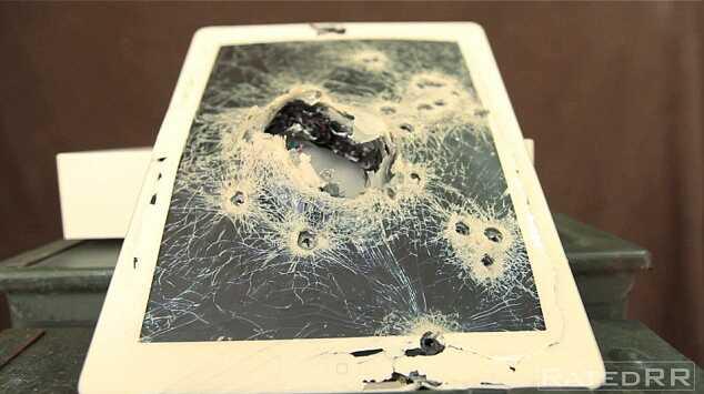 Шок американец расстрелял новый ipad