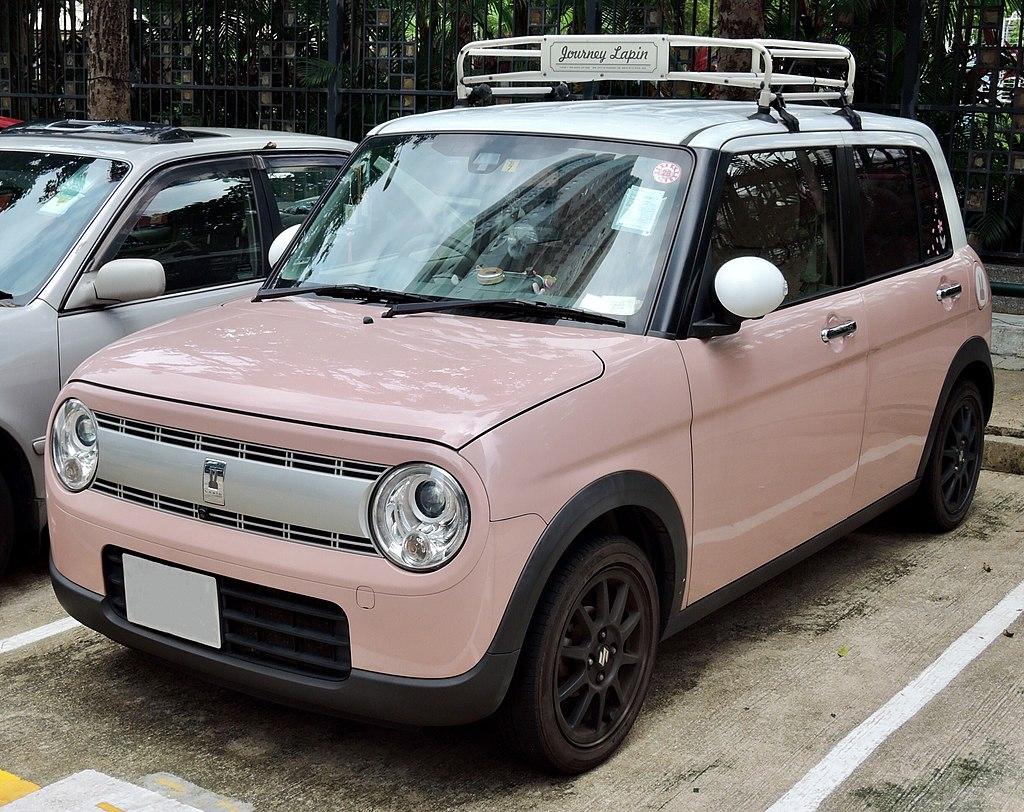Suzuki Lapin - один из самых популярных кей-каров в Японии