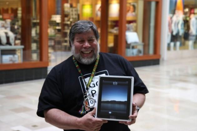 Стив Возняк не стал бы покупать новый iPad Air