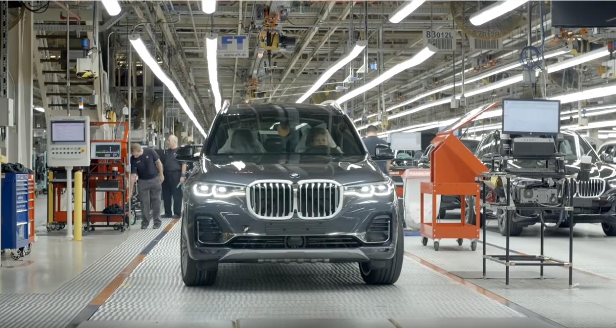 Завод по производству автомобилей BMW