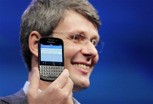 BlackBerry Q10 появится летом