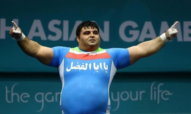 Хоссеин Разазадех - олимпийская звезда тяжелой атлетики