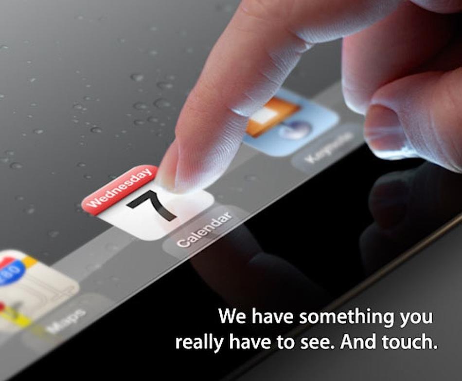 7 марта Apple покажет iPad 3 онлайн