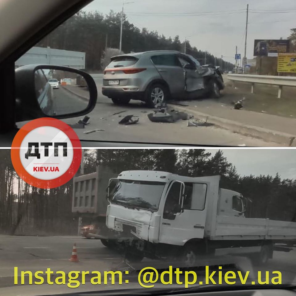 Два ДТП за час: На столичном шоссе в Киеве было неспокойно