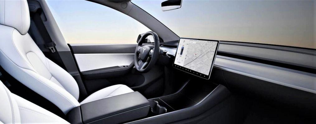 Электрокар получит новый интерьер, выполненный в стиле Model 3