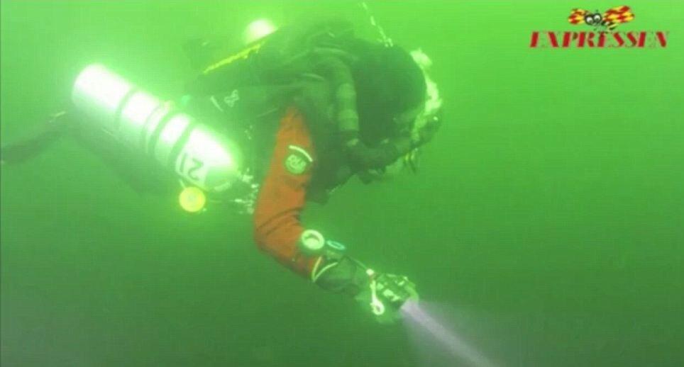 На дне морском находится непонятный объект