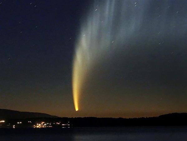Комета ISON будет видна уже этой осенью