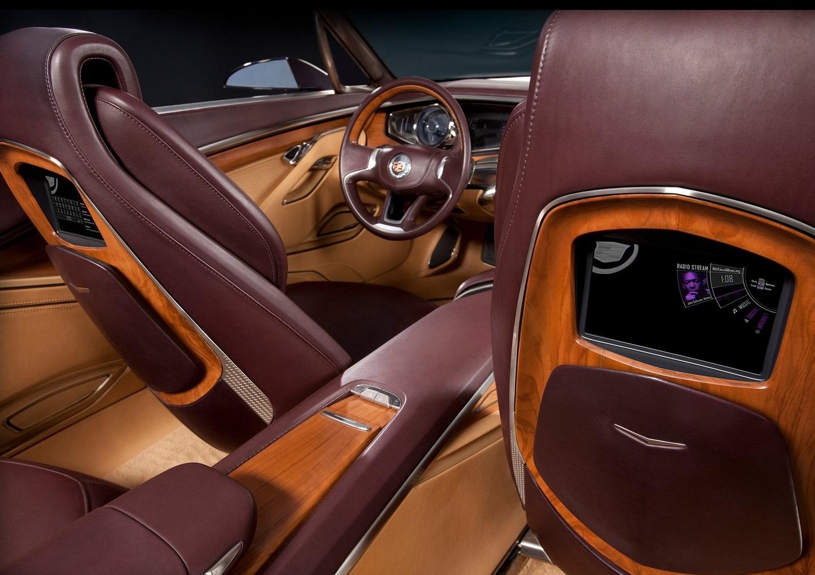 Cadillac Ciel до зубов оснащен новейшими технологиями
