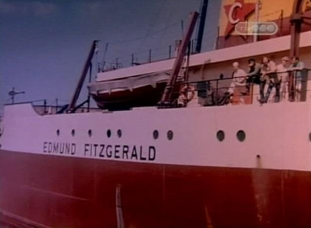 Эдмунд Фицджеральд утонул в водах озера Верхнего