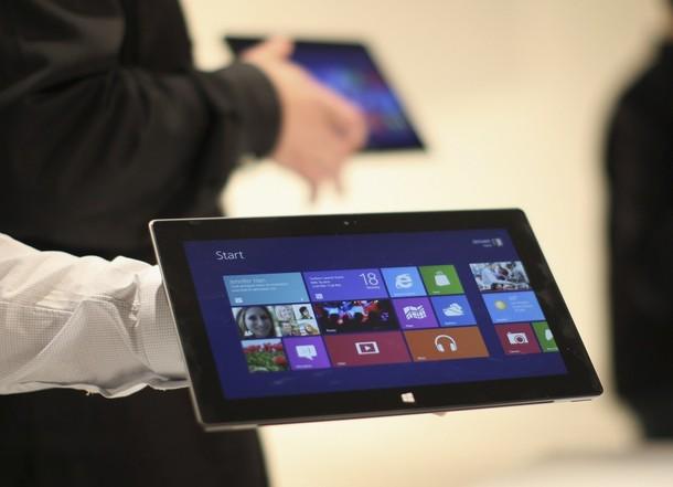 Новый планшет Microsoft сравнили с конкурентами