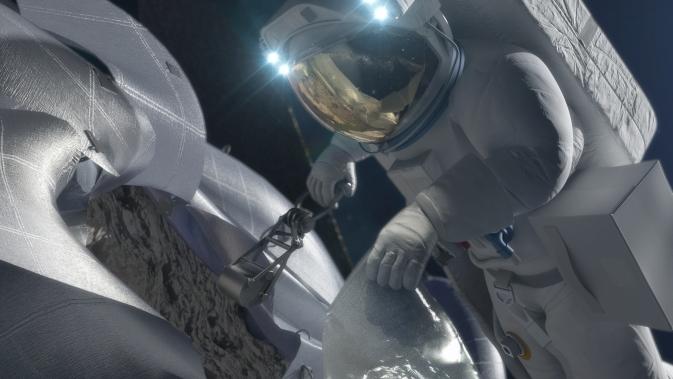Концепт-изображение миссии Астероид.