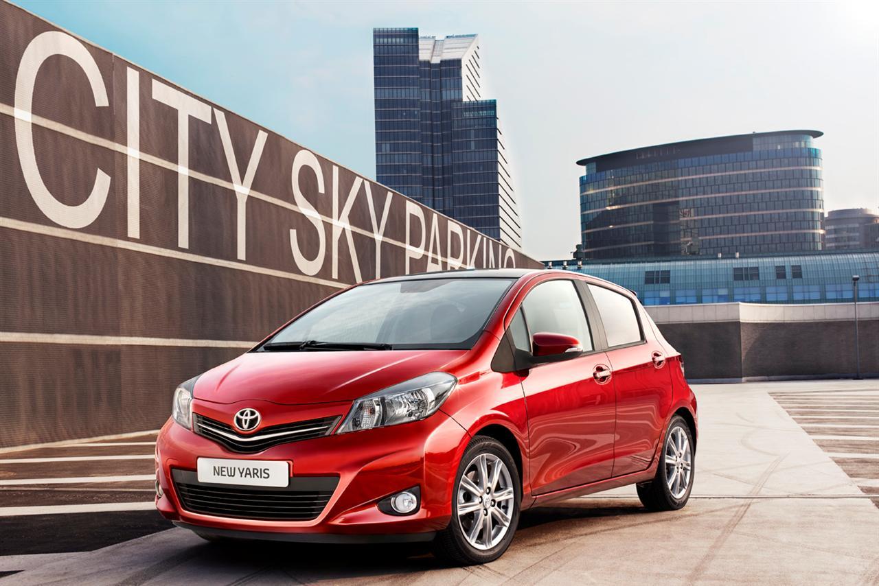 Появились первые фото новой Toyota Yaris