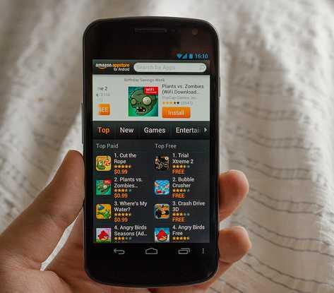 Amazon может выпустить собственный смартфон