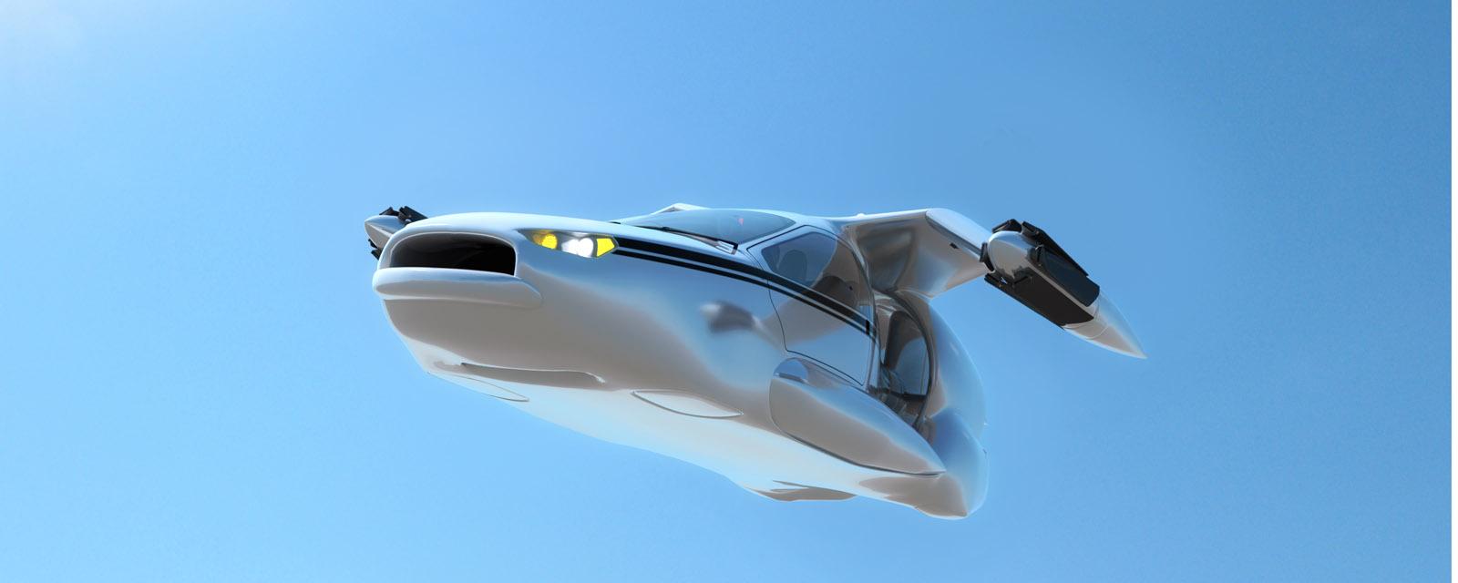 Летающие авто заполонят небеса
