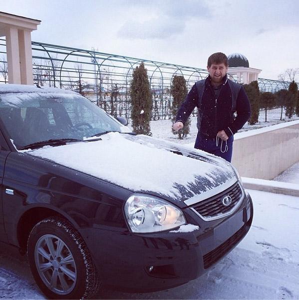 Кадыров отдал Ладу детдому, но отметил, что остался доволен автомобилем