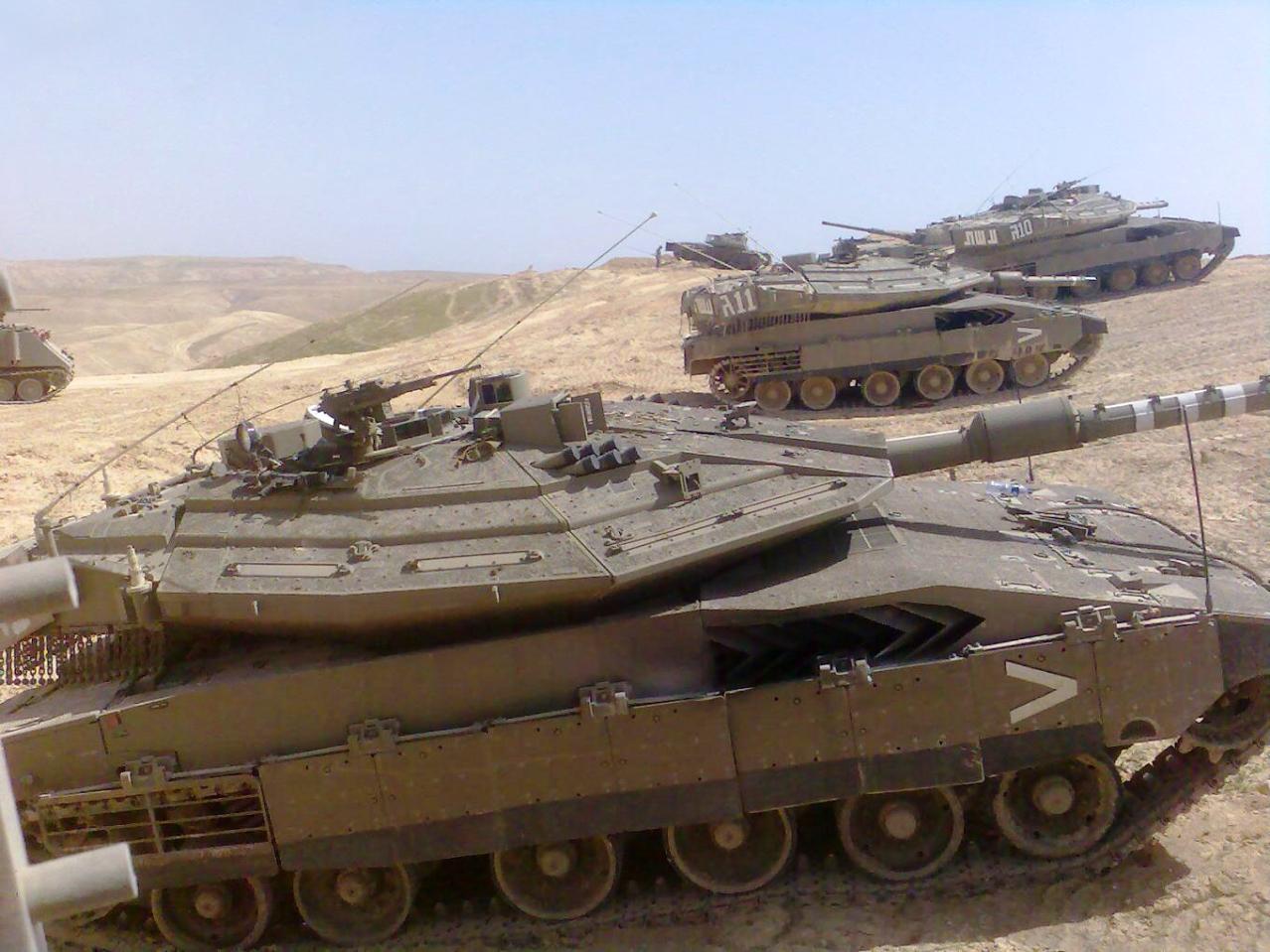 Израиль не торгует своими танками
