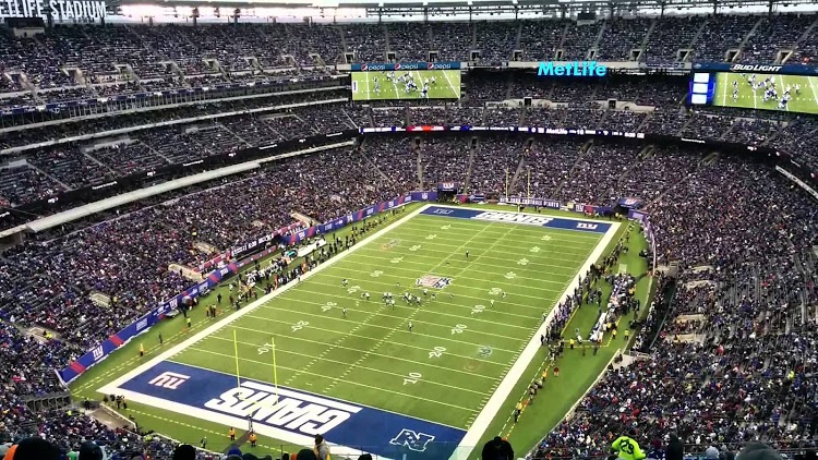 Metlife Stadium - домашний стадион New York Giants и New York Jets