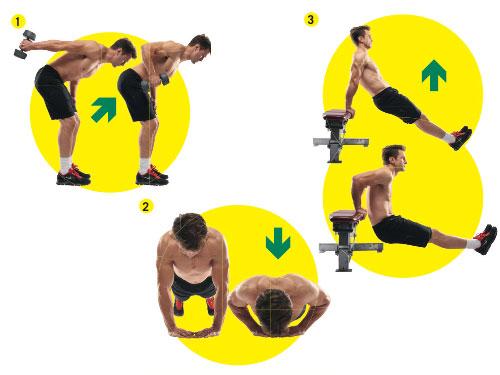 Смотри упражнения, которыми быстро накачаешь трицепсы