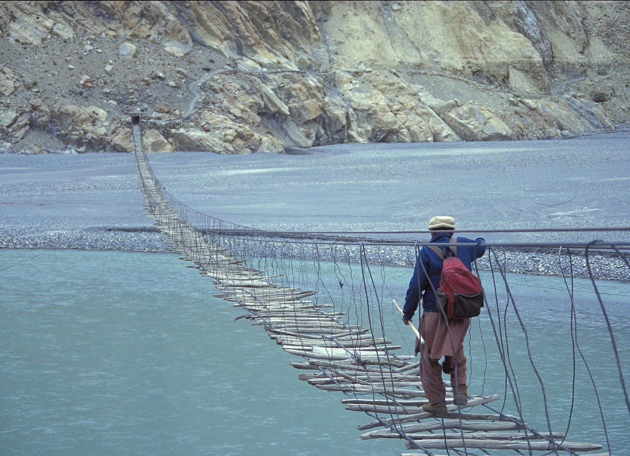 Мост Хуссаини, Пакистан