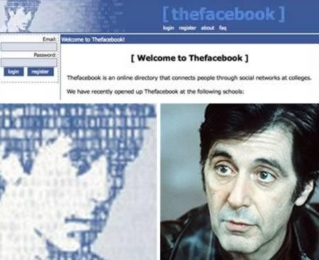 Аль Пачино был первым лицом Facebook